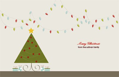 Christmas7 Greeting Card (55x85)